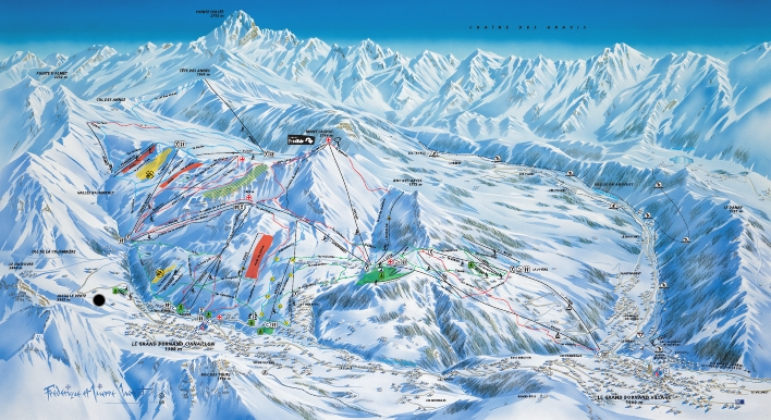 sierra nevada piste map pdf