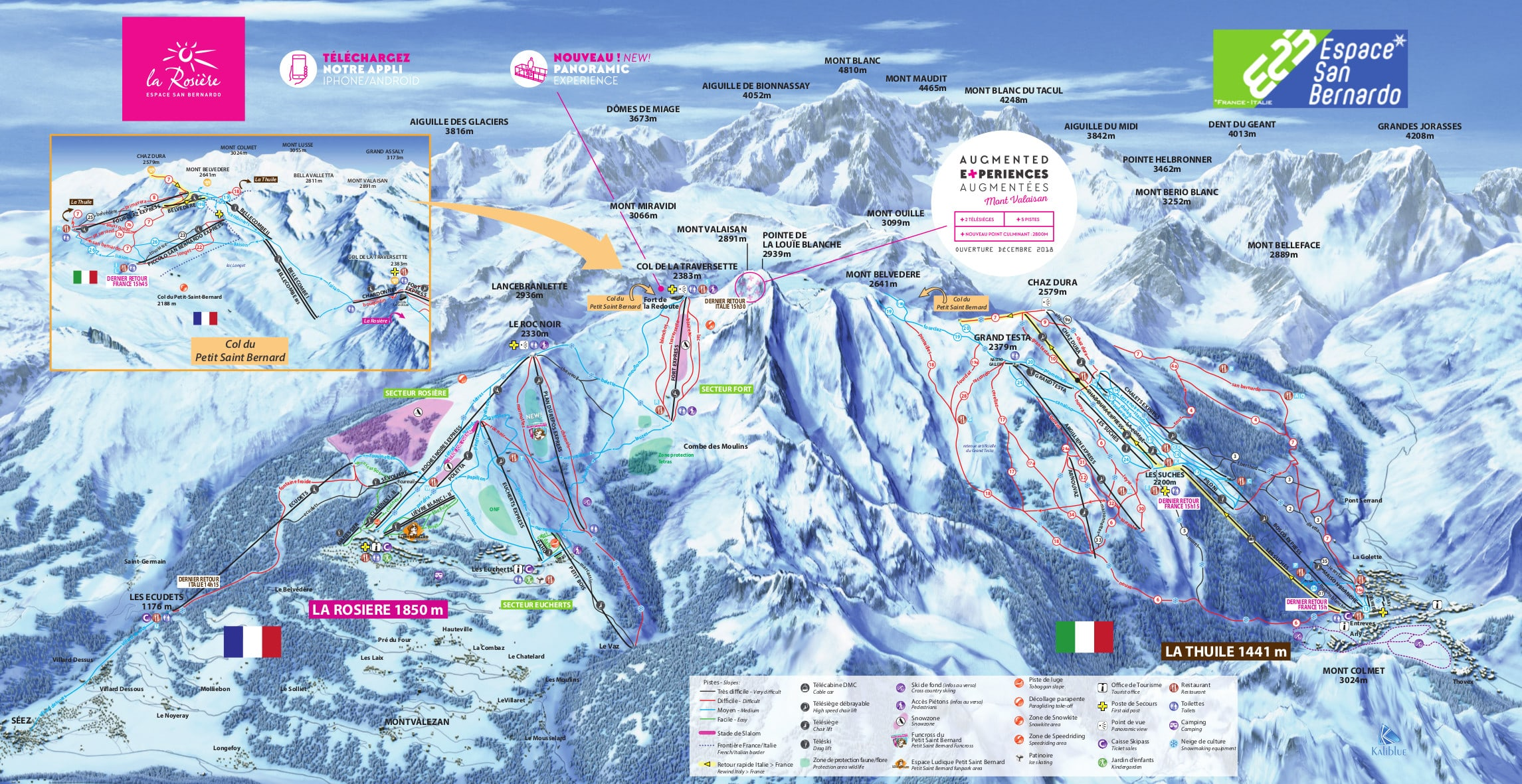 La Thuile Ski Trail Map Free Download