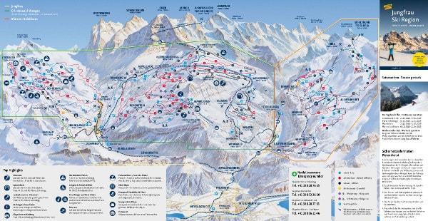 Grindelwald Ski Map Free Download