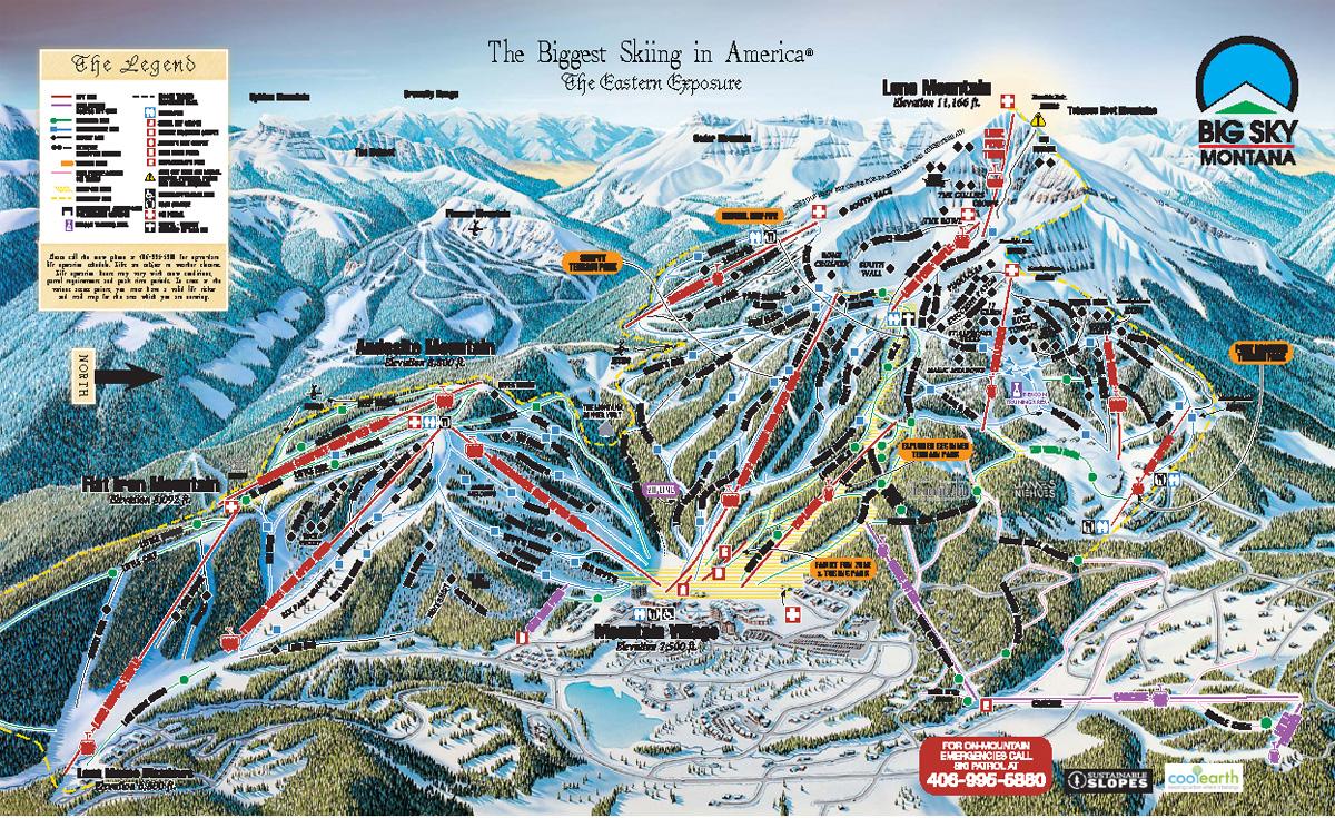 Pics Photos  Big Sky Ski Resort