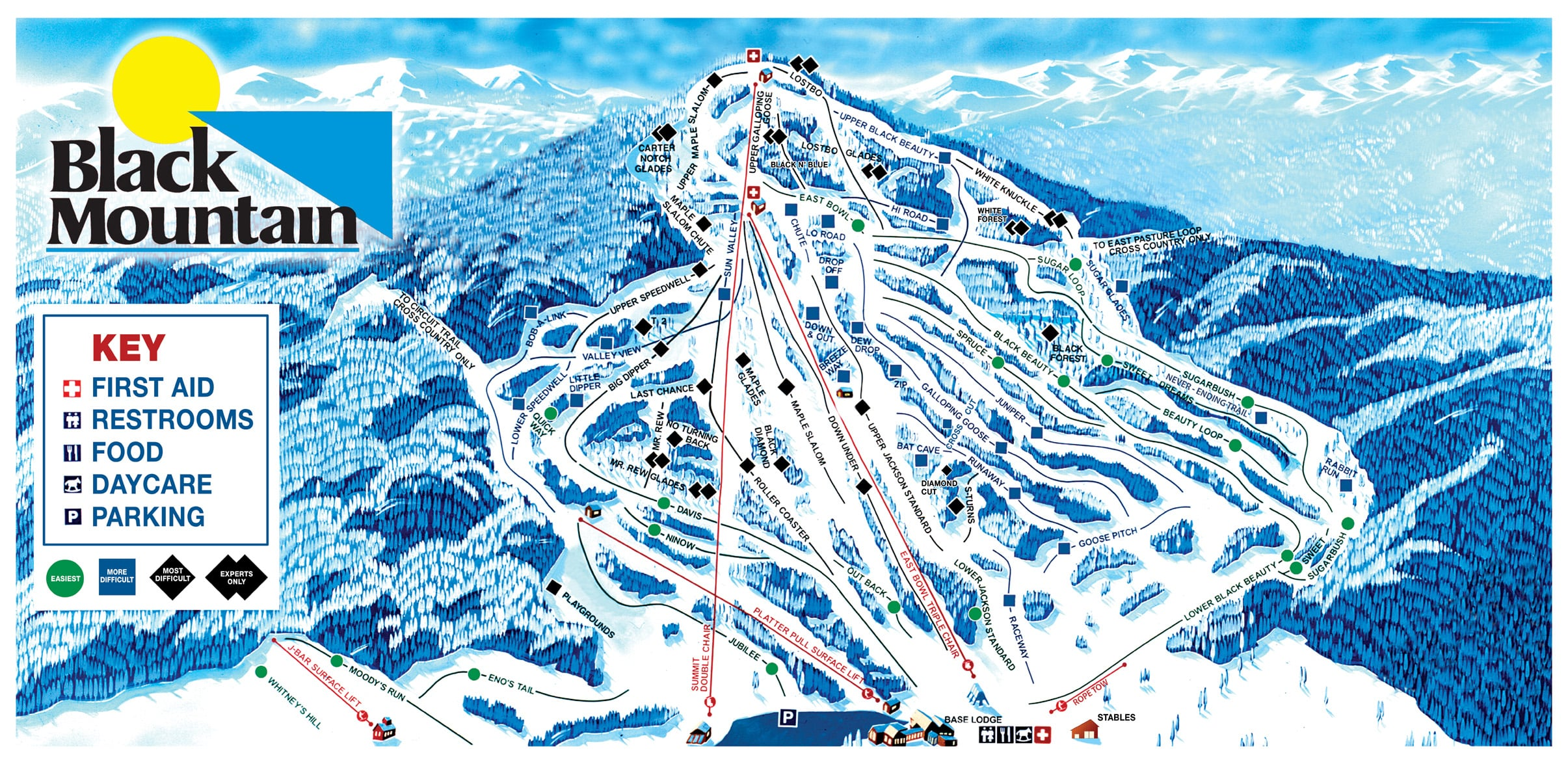 black mountain ski trail map free download