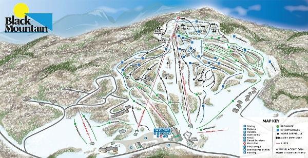 Black mountain ski trail map free download black mountain ski map publicscrutiny Choice Image