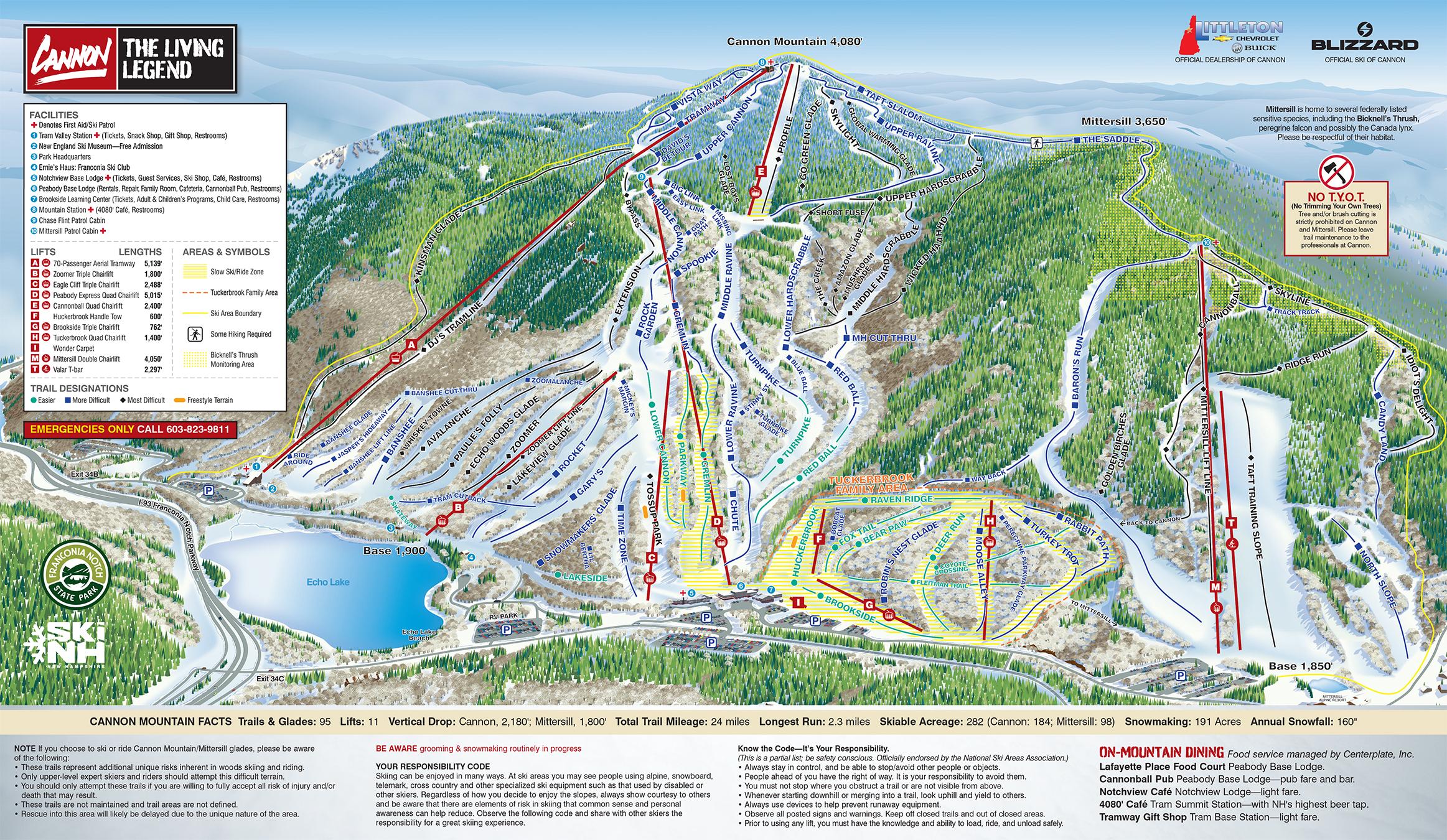 Cannon mountain ski trail map free download cannon mountain ski map publicscrutiny Choice Image