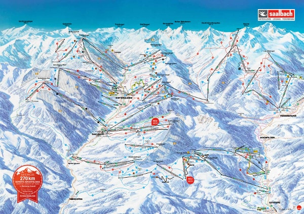 Ski Circus Ski Resort Ski Trail Map