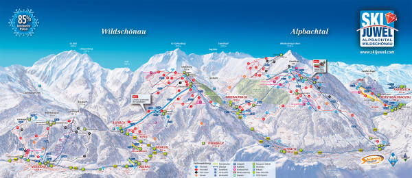 Ski Juwel Ski Resort Ski Trail Map