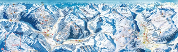 Alta Valtellina Ski Resort Ski Trail Map