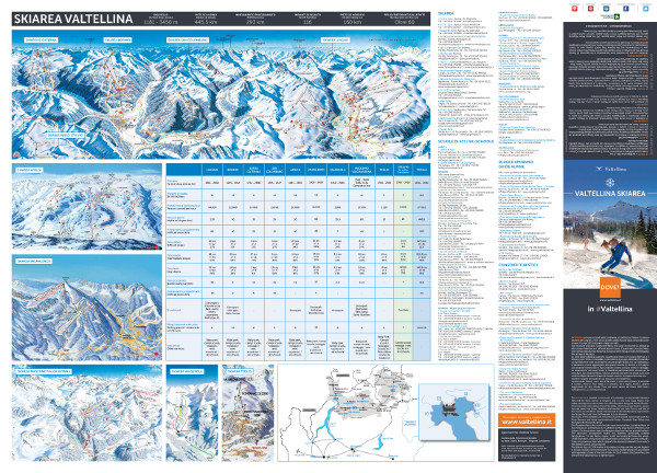 Valtellina Ski Trail Map